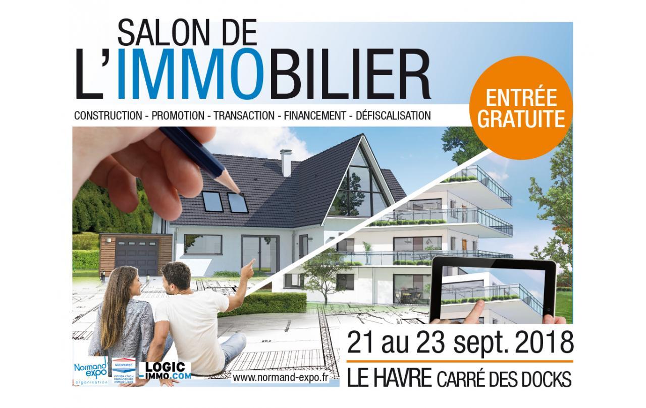 Salon De L'immobilier à Le Havre (76600) du 21/09/2018 au 23/09/2018