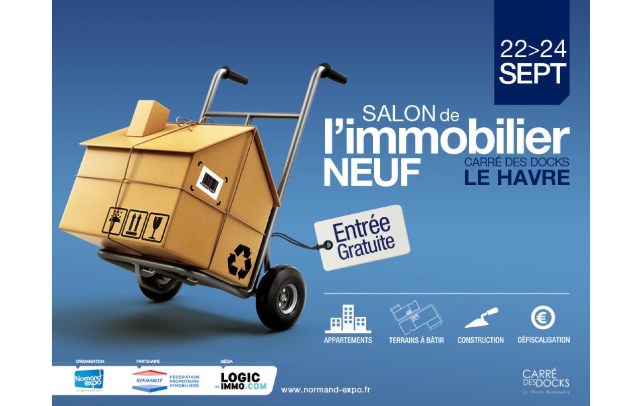 Salon De L'immobilier à Le Havre du 22/09/2017 au 24/09/2017
