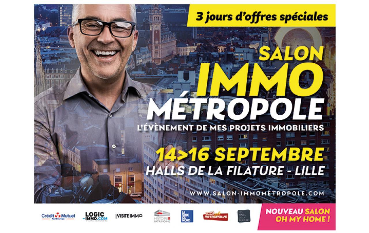 Salon De L'immobilier à Lille (59000) du 14/09/2018 au 16/09/2018
