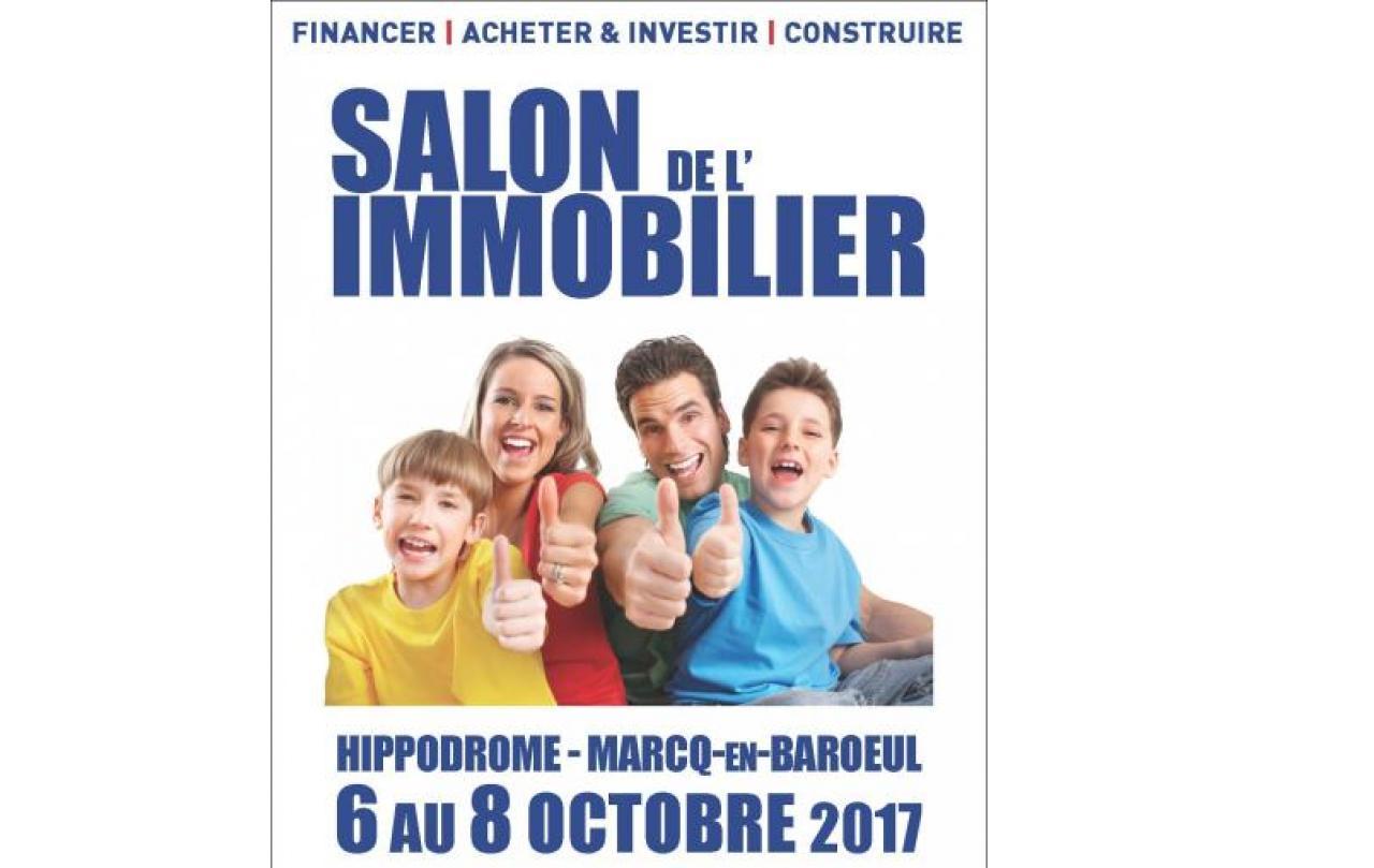 Salon De L'immobilier à Marcq-en-baroeul du 06/10/2017 au 08/10/2017