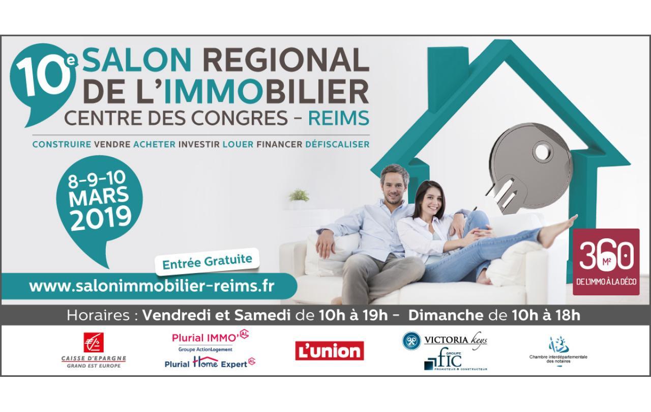 Salon De L'immobilier à Reims (51100) du 08/03/2019 au 10/03/2019