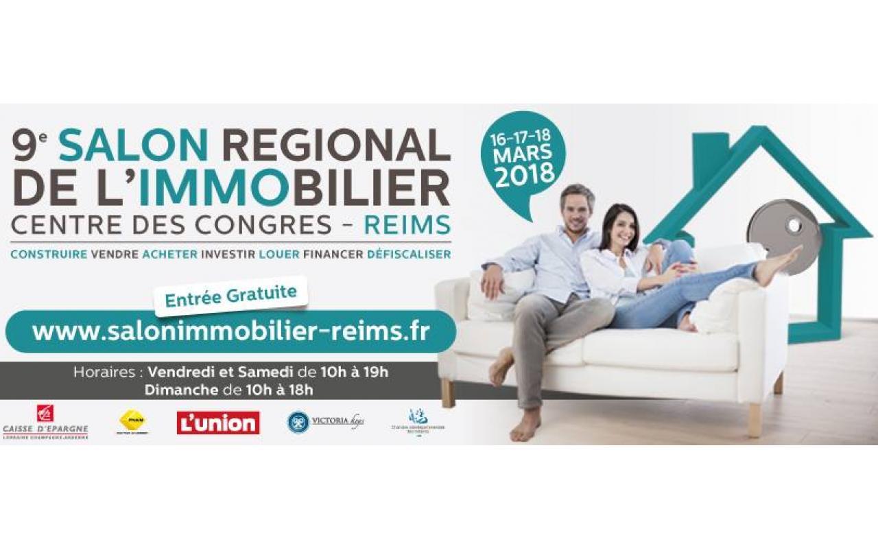 Salon De L'immobilier à Reims (51100) du 16/03/2018 au 18/03/2018