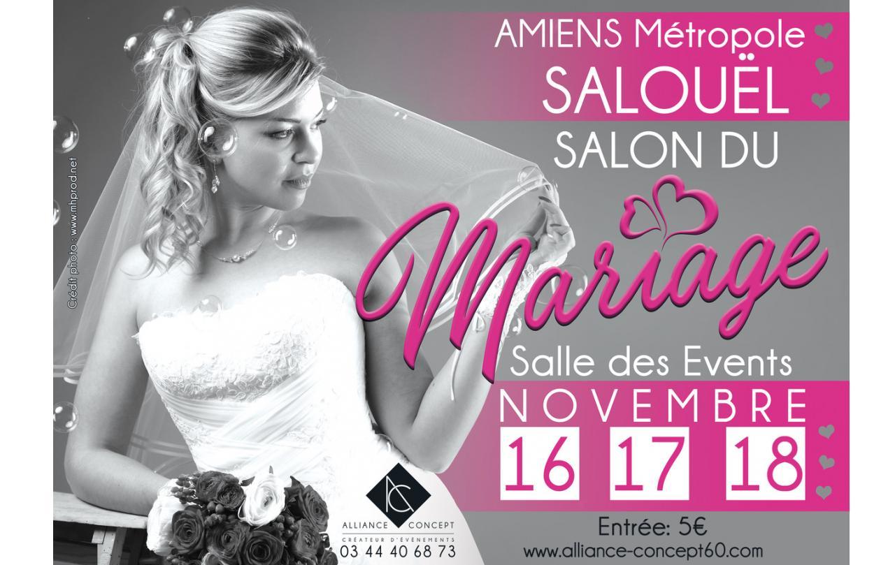 Salon Du Mariage à Salouel (80480) du 16/11/2018 au 18/11/2018