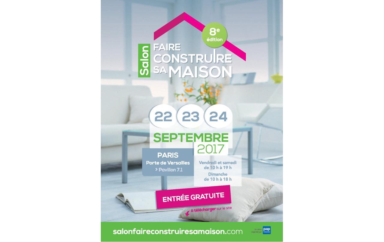 Salon Faire Construire Sa Maison à Paris du 22/09/2017 au 24/09/2017