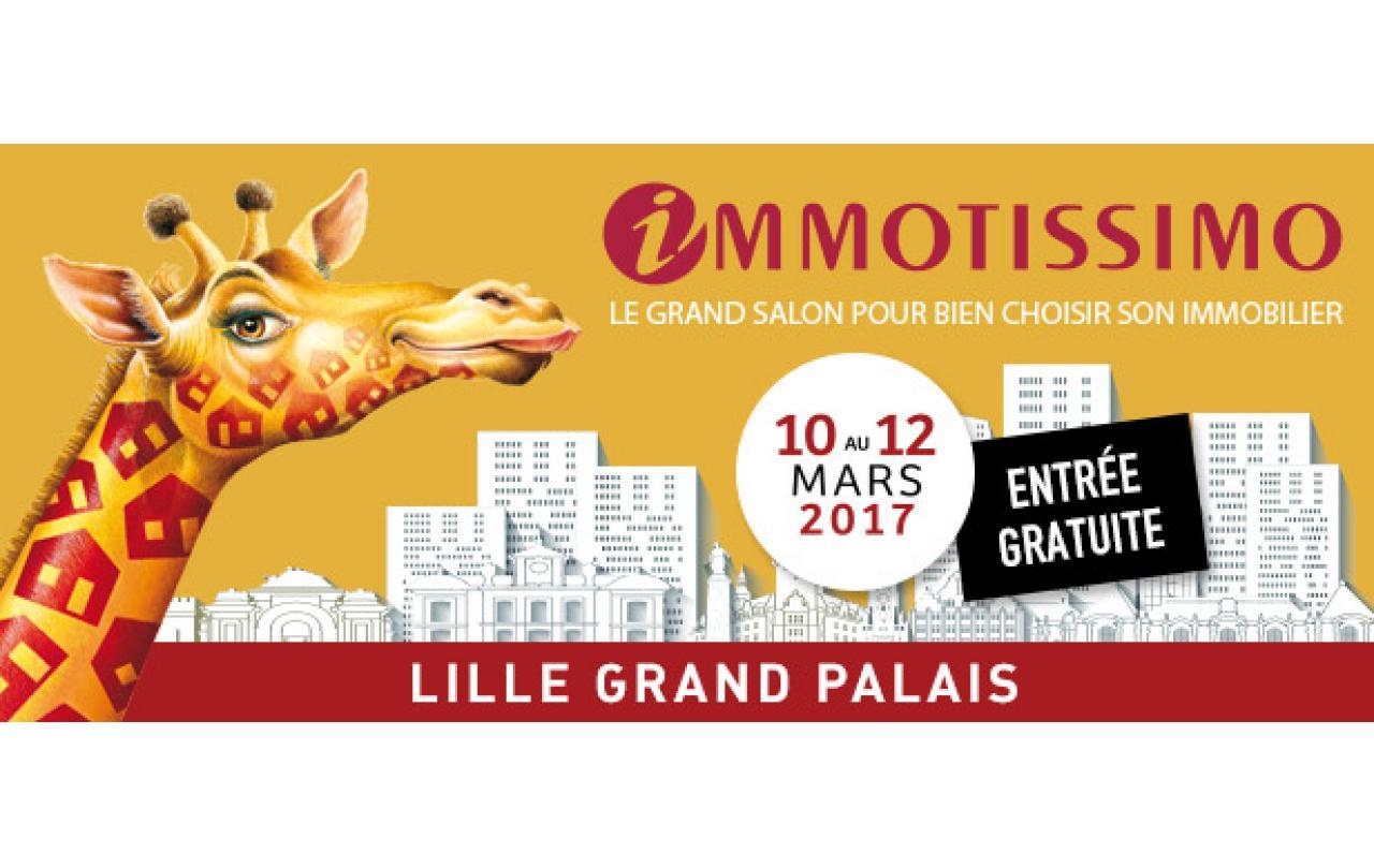 Salon Immotissimo à Lille du 10/03/2017 au 12/03/2017
