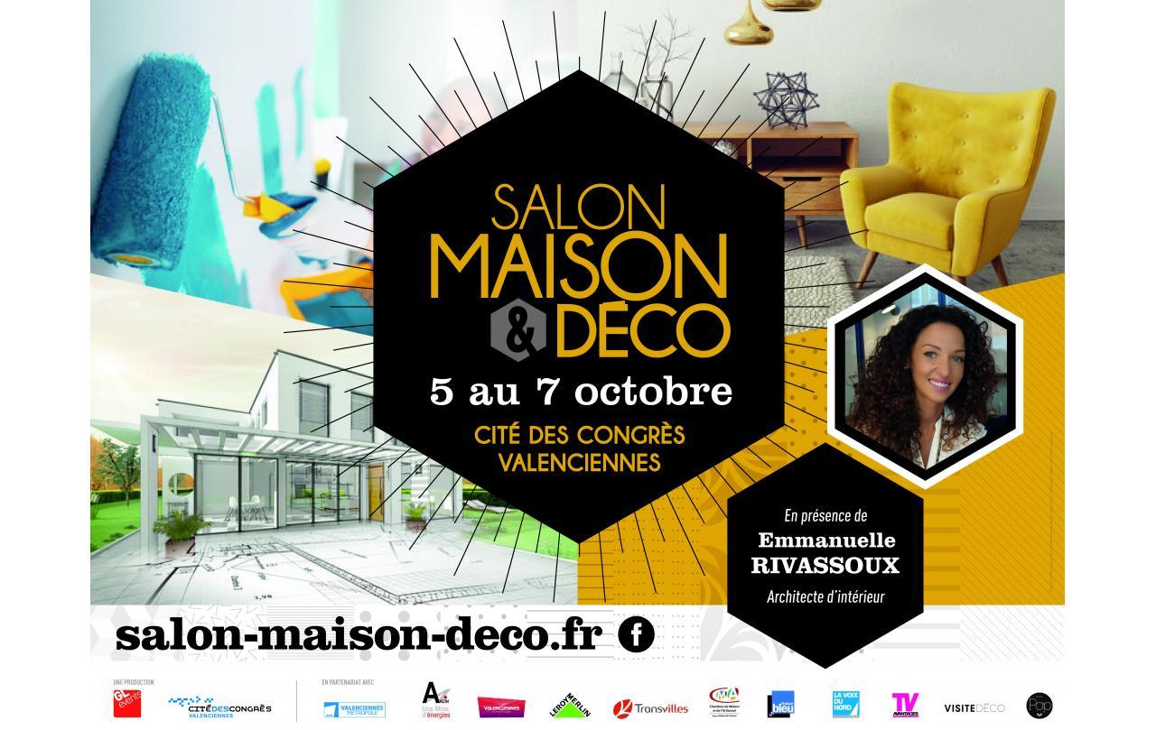Salon Maison Deco à Valenciennes du 05/10/2018 au 07/10/2018