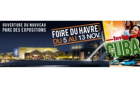 Foire à Le Havre du 05/11/2016 au 13/11/2016