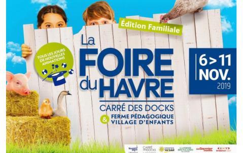 Foire à Le Havre (76600) du 06/11/2019 au 11/11/2019