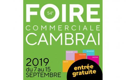 Foire Commerciale à Cambrai (59400) du 07/09/2019 au 15/09/2019