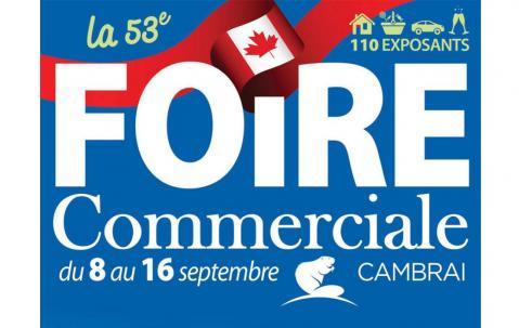 Foire Commerciale à Cambrai du 08/09/2018 au 16/09/2018