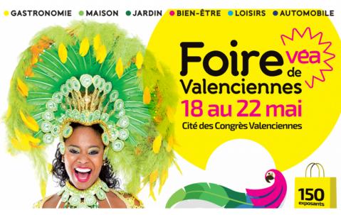 Foire Commerciale à Valenciennes du 18/05/2018 au 22/05/2018