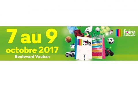 <b>Foire Exposition</b> à <b>Abbeville</b><br>du 07/10/2017 au 09/10/2017