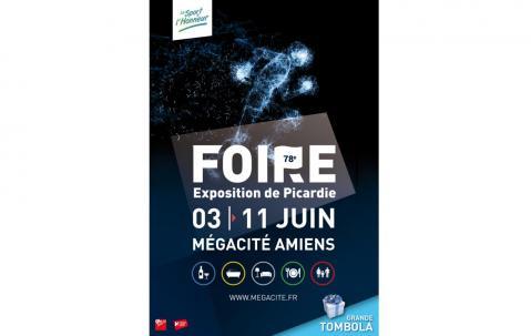 <b>Foire Exposition</b> à <b>Amiens</b><br>du 03/06/2017 au 11/06/2017
