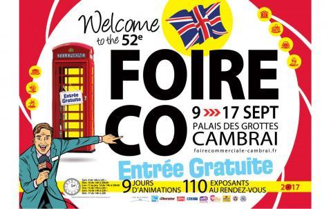 Foire Exposition à Cambrai du 09/09/2017 au 17/09/2017