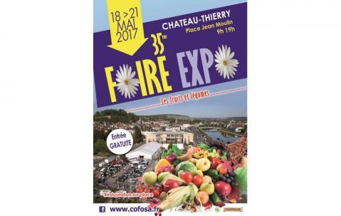 <b>Foire Exposition</b> à <b>Chateau-thierry</b><br>du 18/05/2017 au 21/05/2017