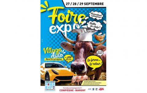 Foire Exposition à Compiegne (60200) du 27/09/2019 au 29/09/2019