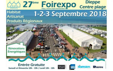 Foire Exposition à Dieppe (76200) du 01/09/2018 au 03/09/2018