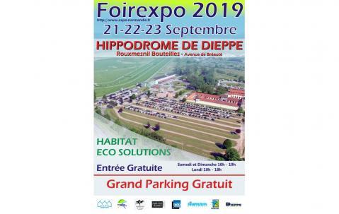 Foire Exposition à Dieppe du 21/09/2019 au 23/09/2019