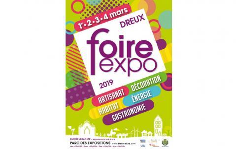 Foire Exposition à Dreux (28100) du 01/03/2019 au 03/02/2019