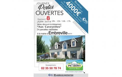 Portes Ouvertes à Embreville (80570) le 08/06/2019