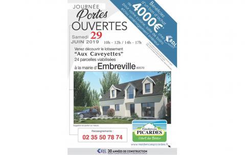 Portes Ouvertes à Embreville (80570) le 29/06/2019