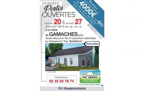 Portes Ouvertes à Gamaches (80220) le 20/07/2019