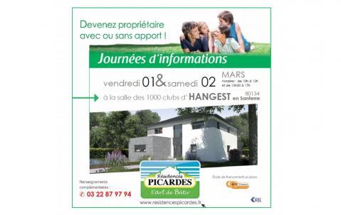 Portes Ouvertes à Hangest-en-santerre (80134) les 01/03/2019 et 02/03/2019