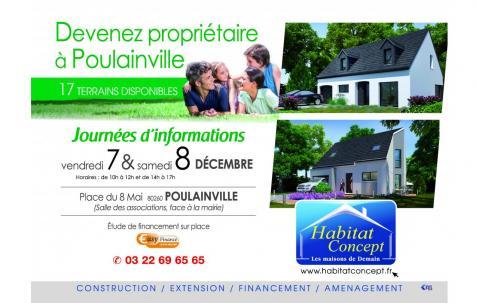 Portes Ouvertes à Poulainville (80260) les 07/12/2018 et 08/12/2018