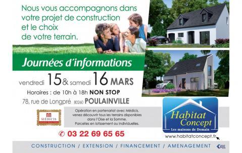 Portes Ouvertes à Poulainville les 15/03/2019 et 16/03/2019