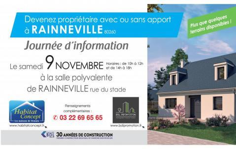 Portes Ouvertes à Rainneville (80260) le 09/11/2019