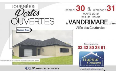 Portes Ouvertes à Vandrimare (27380) les 30/03/2019 et 31/03/2019
