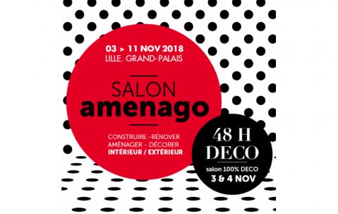 Salon Amenago à Lille (59000) du 03/11/2018 au 11/11/2018