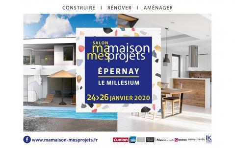 Salon De La Maison à Epernay (51200) du 24/01/2020 au 26/01/2020