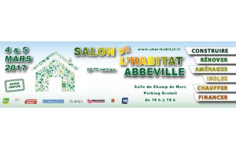 <b>Salon De L'habitat</b> à <b>Abbeville</b><br>les 04/03/2017 et 05/03/2017