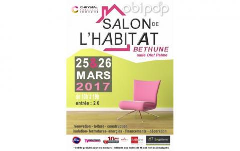 Salon De L'habitat à Bethune les 25/03/2017 et 26/03/2017