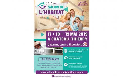 Salon De L'habitat à Chateau-thierry (02400) du 17/05/2019 au 19/05/2019