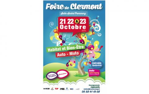 <b>Salon De L'habitat</b> à <b>Clermont</b><br>du 21/10/2016 au 23/10/2016