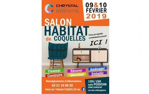 Salon De L'habitat à Coquelles (62231) les 09/02/2019 et 10/02/2019