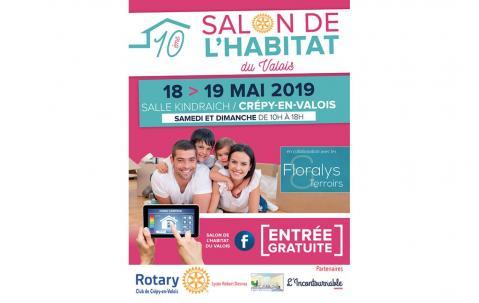 Salon De L'habitat à Crepy-en-valois (60800) les 18/05/2019 et 19/05/2019
