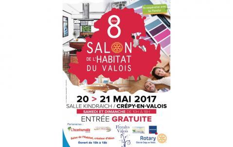 Salon De L'habitat à Crepy-en-valois (60800) les 20/05/2017 et 21/05/2017