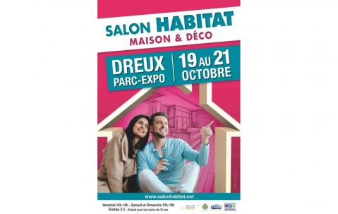 Salon De L'habitat à Dreux du 19/10/2018 au 21/10/2018