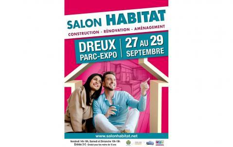 Salon De L'habitat à Dreux (28100) du 27/09/2019 au 29/09/2019