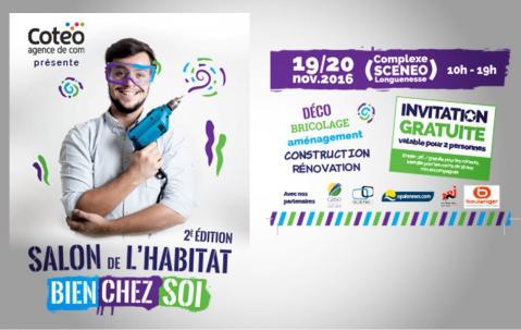 Salon De L'habitat à Longuenesse les 19/11/2016 et 20/11/2016