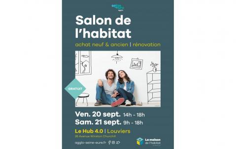 Salon De L'habitat à Louviers (27400) les 20/09/2019 et 21/09/2019