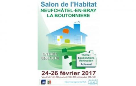 Salon De L'habitat à Neufchatel-en-bray du 24/02/2017 au 26/02/2017