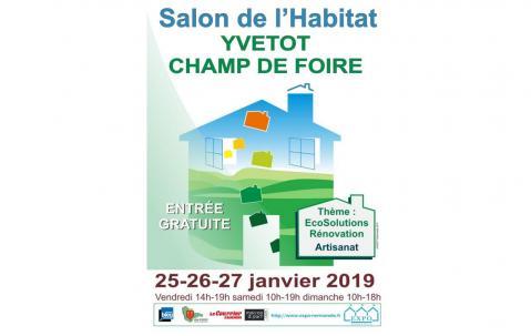 Salon De L'habitat à Yvetot (76190) du 25/01/2019 au 27/01/2019