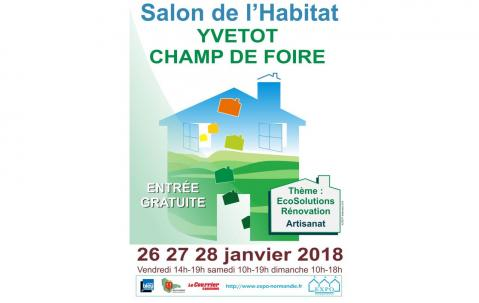 Salon De L'habitat à Yvetot (76190) du 26/01/2018 au 28/01/2018