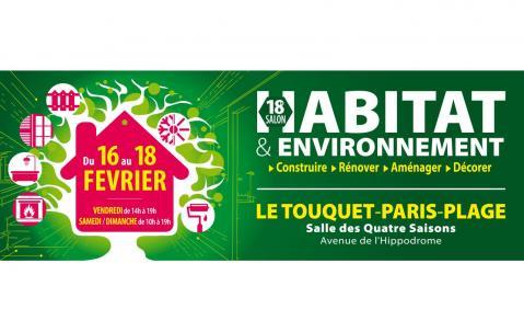 Salon De L'habitat Et De L'environnement à Le Touquet-paris-plage du 16/02/2018 au 18/02/2018