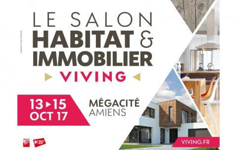 <b>Salon De L'habitat Et De L'immobilier</b> à <b>Amiens</b><br>du 13/10/2017 au 15/10/2017