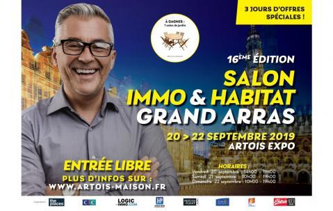 Salon De L'habitat Et De L'immobilier à Arras du 20/09/2019 au 22/09/2019